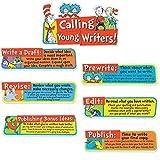 Eureka Classroom Bulletin Board Set, Dr. Seuss Writing Tips Mini Bulletin