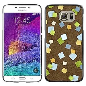iKiki Tech / Estuche rígido - Design Post It - Samsung Galaxy S6 SM-G920
