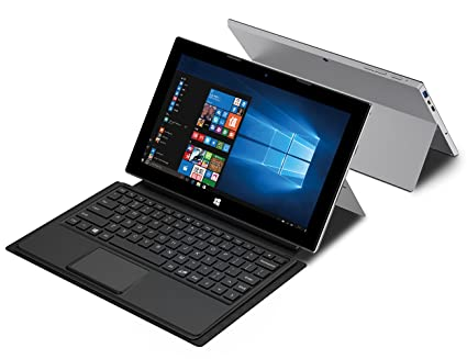 Jumper EZpad 7S 10.8 Inch 2 in 1 Laptop Windows 10 1080P Intel Cherry Trail Z8350 Amazon.com:
