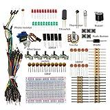 SunFounder Sidekick Basic Starter Kit w/ Breadboard, Jumper wires, Color Led, Resistors, Buzzer For Arduino UNO R3 Mega2560 Mega328 Nano Raspberry Pi