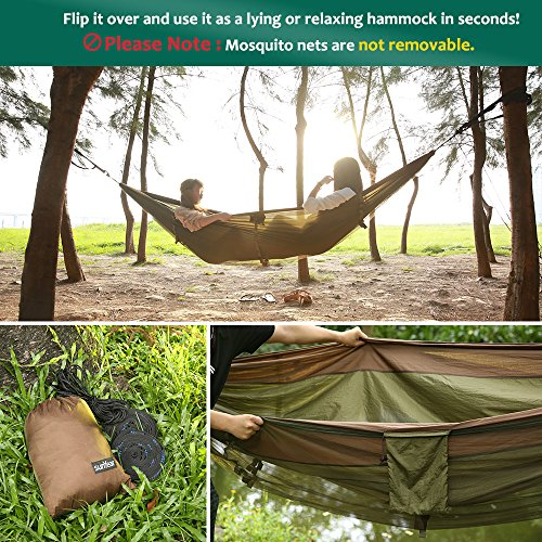 double camping hammock with mosquito   10ft     double camping hammock with mosquito   10ft hammock tree straps      rh   bestcampkitchen