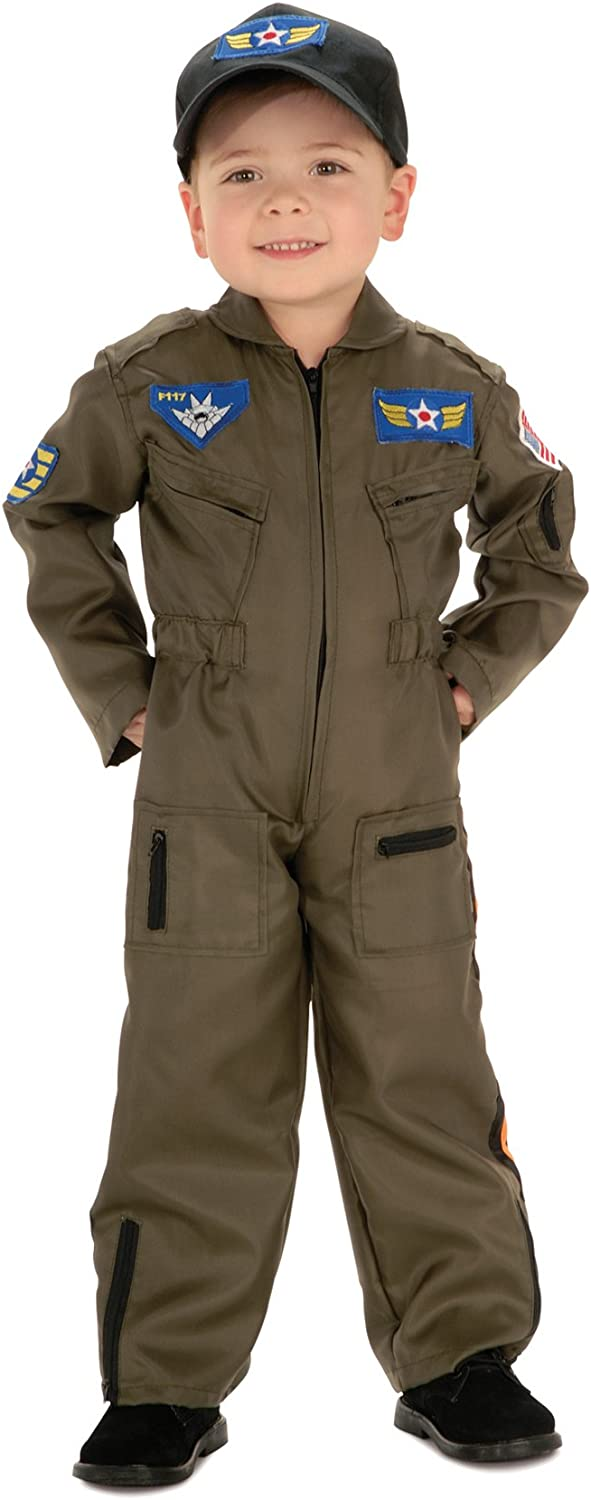 Toddler Infant Astronauts Baby Boy Pilot Military Air Force Costume Outfit Set