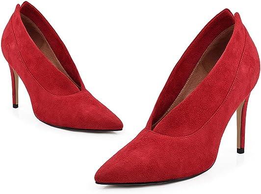 PATI High-Heels Boots Deep V Shallow
