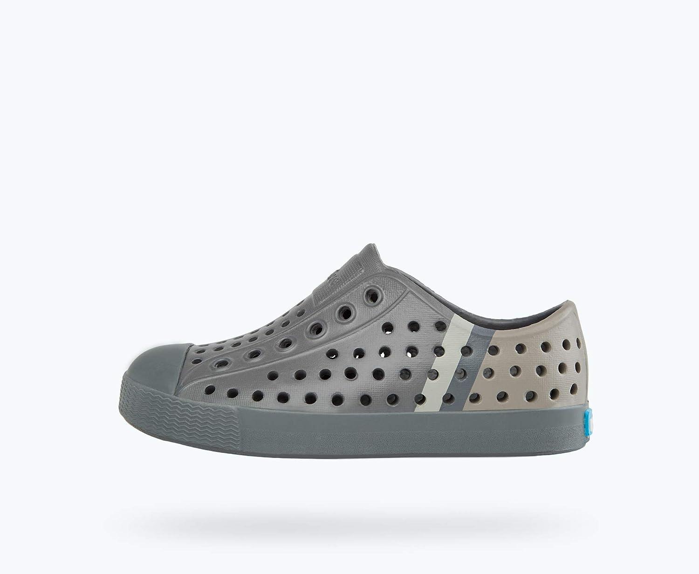 Dublin Grey//Dublin Grey//Rocky Stripe 7 Toddler M Native Kids Shoes Jefferson Block Toddler//Little Kid