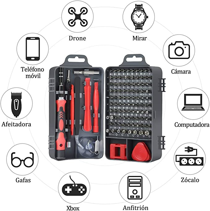 E·Durable Tournevis Precision Electrique iphone,64pcs Mini kit ...