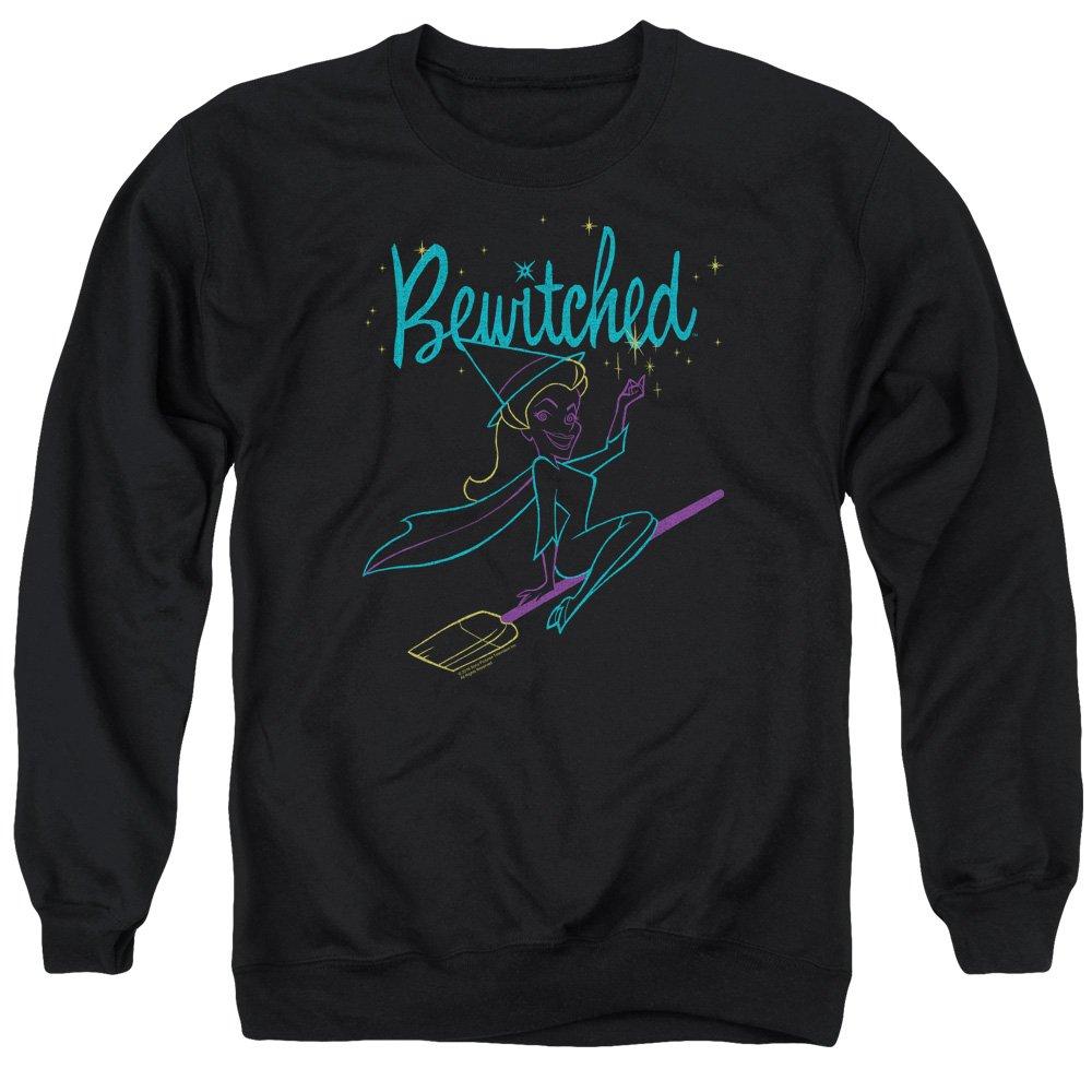 Bewitched Neon Lines Adult Crewneck Sweatshirt