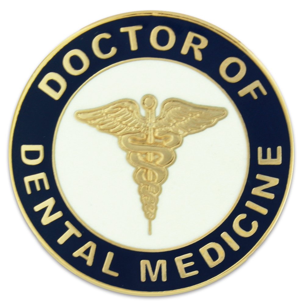 PinMart Doctor of Dental Medicine DMD Lapel Pin