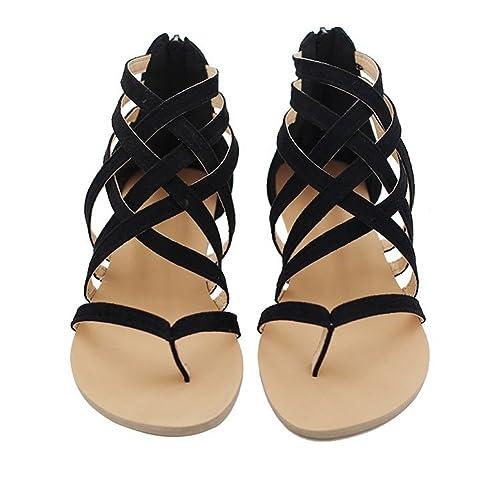 Verano Sandalias Mujer Clip Zapatos De Toe Espina Pescado srtChQdx