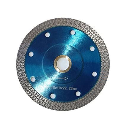Inch Diamond Saw Blade For Cutting Granite Ceramic Marble - Best wet saw blade for porcelain tile