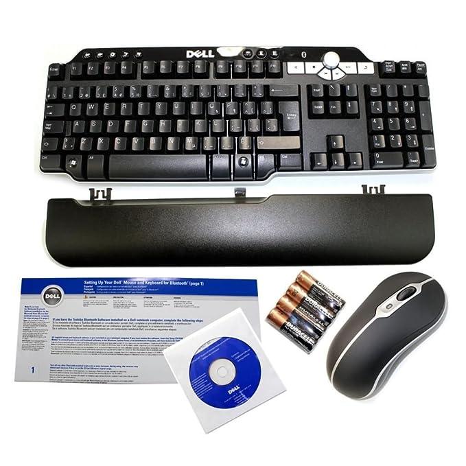 Amazon.com: Genuine DELL Bluetooth Wireless MultiMedia Black Silver 104 Keys Keyboard & Mouse Set Part Numbers: FJ905, GM952, DH953, UN733, DH421, G480K, ...
