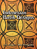 Indonesian Batik Designs, Mas Pirngadie and J. E. Jasper, 0486448835