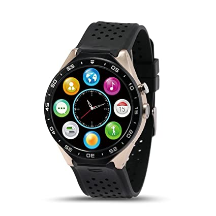 Amazon.com: ZIMINGU KW88 3G Smart Watch Phone Luxurious ...
