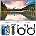 LG 55UH8500 - 55-Inch Super Ultra HD 4K Smart LED TV Accessory Bundle includes LG 55UH8500 4K TV, Screen Cleaning Kit, 6 Outlet Power Strip with USB Ports and 2 6ft HDMI Cables