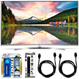 LG 65UH8500 - 65-Inch Super Ultra HD 4K Smart LED TV Accessory Bundle includes LG 65UH8500 4K TV, Screen Cleaning Kit, 6 Outlet Power Strip with USB Ports and 2 6ft HDMI Cables