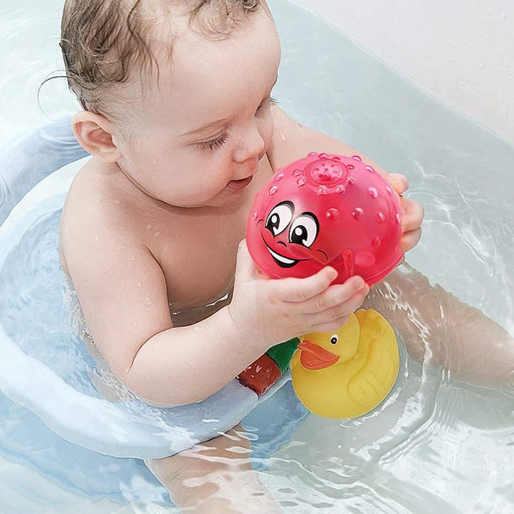 Kylewo Baby Badespielzeug schwimmende Badespielzeug Badezimmer Sprinkler Badespielzeug Spray Water Can Drifting drehen mit Shower Pool Toy