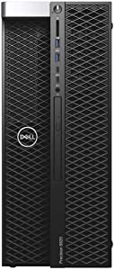 Dell Precision T5820 Workstation Intel Xeon W-2155 3.30GHz (Up to 4.50GHz) 10-Core 13.75MB Cache 140W Processor 64GB DDR4-2666MHz RDIMM Memory 1TB NVMe SSD 4TB HDD NVIDIA Quadro P1000 4GB Win 10 Pro