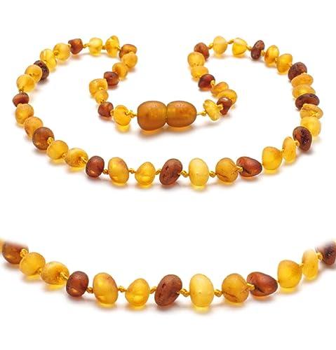 prezzo più basso f1427 fa06e Collana in ambra autentiche perle di ambra., base metal, cod ...