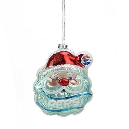 "Northlight Glittered Santa Claus Head Pepsi Christmas Ornament, 4.5"",  ... - Amazon.com: Northlight Glittered Santa Claus Head Pepsi Christmas"