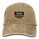SumiDom Jeep Unisex Adult Baseball Cap Trucker Hat Cowboy Hat Hip Hop Sports Snapback