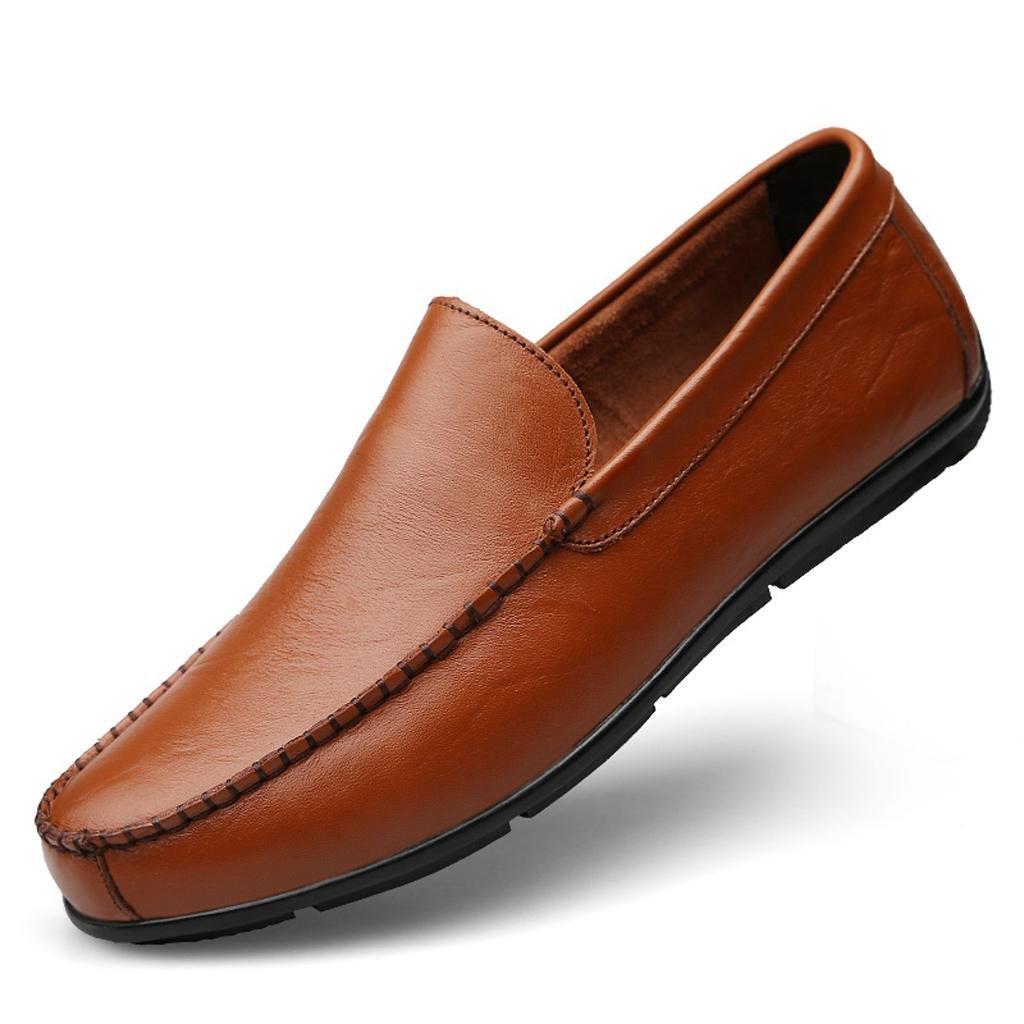 M&M Männer Business Casual Schuhe Fahrschuhe Arbeitsschuhe Business Männer Schuhe Weiches Gewebe Braun 79966b