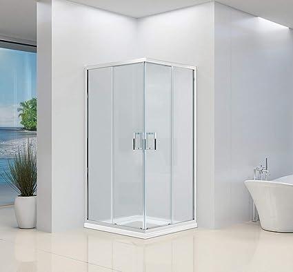 Mampara de ducha de esquina de alta calidad con 2 puertas ...