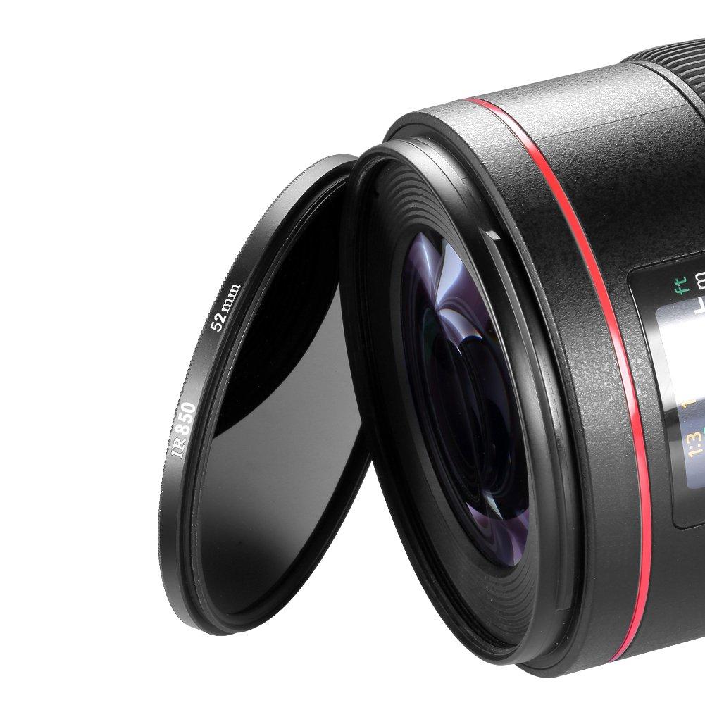 /ir850/ Neewer 52/mm Filtro Infrarossi/ /per Nikon D7100/D7000/D5200/D5100/D5000/D3300/D3200/D3000/D90/D80/DSLR Fotocamere