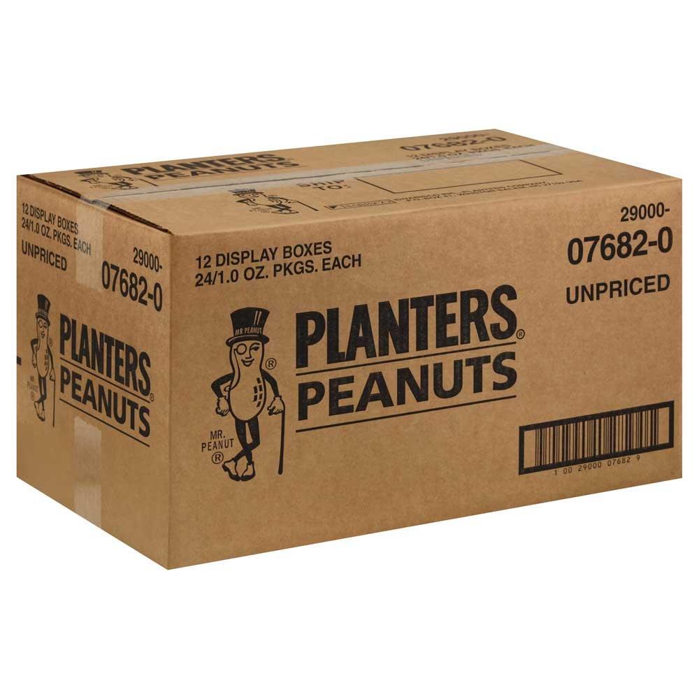 Planters Unpriced Peanut, 1 Ounce -- 288 Case