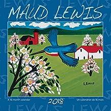 Maud Lewis 2018 7 x 7 Inch Mini Wall Calendar
