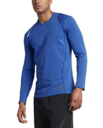 f840f031 Image Unavailable. Image not available for. Color: 725035-480 Nike MEN'S  LONG SLEEVE TRAINING SHIRT ...