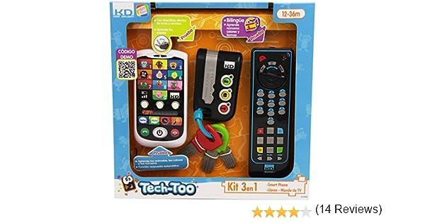 Cefa Toys Kit telefono,llaves y mando a distancia para niños (00425): Amazon.es: Juguetes y juegos