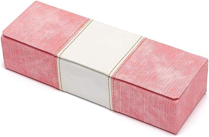FiedFikt Estuche de piel para gafas de sol, gafas de sol, organizador para anteojos, gafas de sol,estuche de colección de joyas,caja de almacenamiento rosa: Amazon.es: Hogar