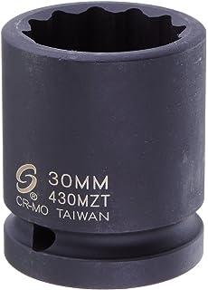 Sunex 440mzt 3//4-Inch Drive 40-Mm 12-Point Thin Wall Impact Socket Sunex International