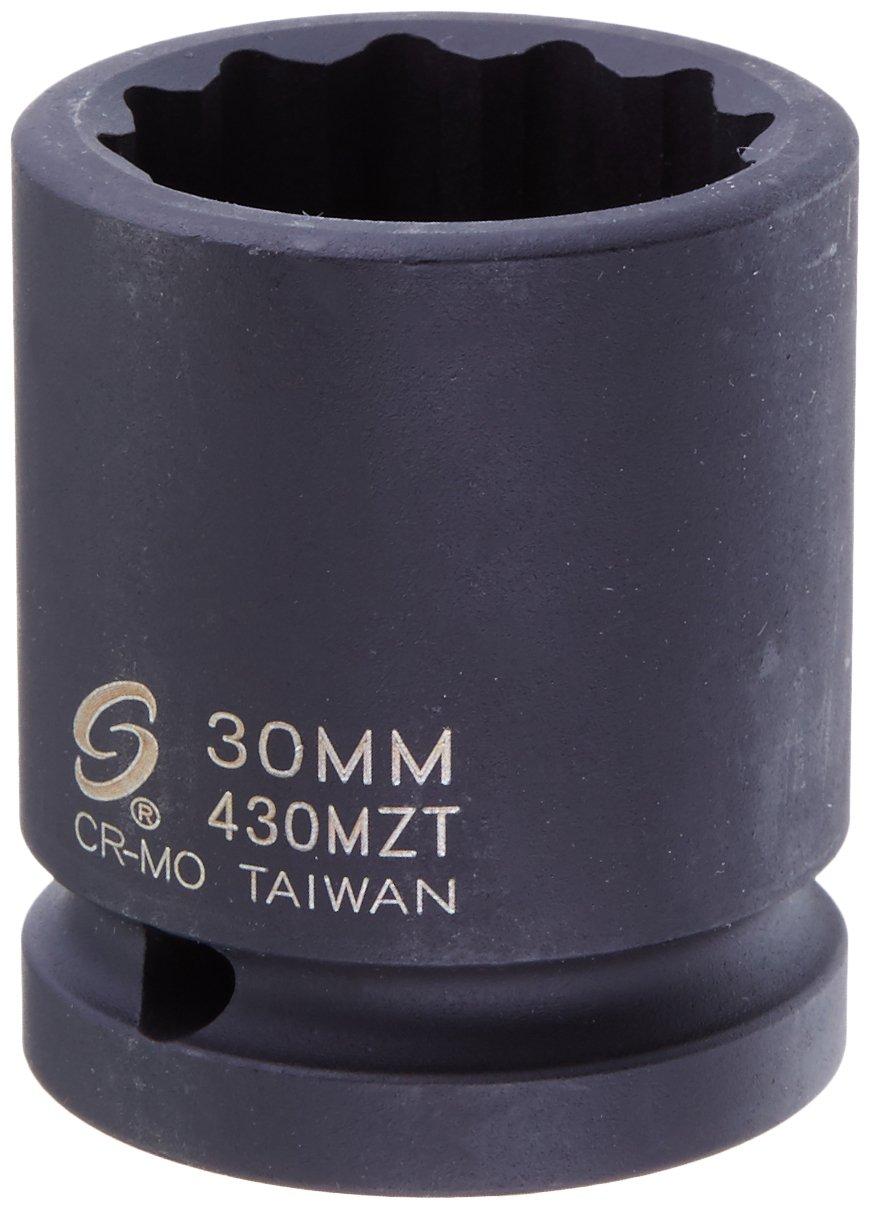 Sunex 430 mzt 3 / 4インチドライブ/ 30 mm 12-point薄肉インパクトソケット B002YKJ17M