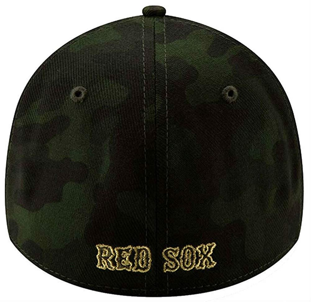 sale retailer b18f3 8bf76 New Era 2019 MLB Boston Red Sox Hat Cap Armed Forces Day 39Thirty 3930  12039531 at Amazon Men s Clothing store