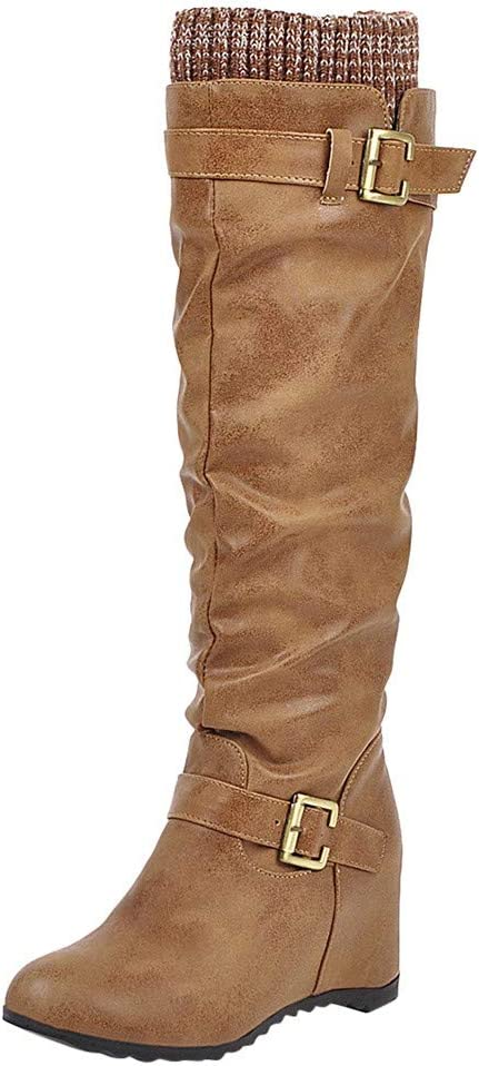 Next Suede Leather Slouch Boots,pull On,size Uk5 Brand New Rrp £65