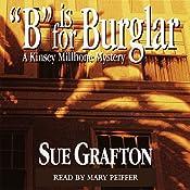B is for Burglar: A Kinsey Millhone Mystery | Sue Grafton