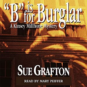 B is for Burglar Audiobook