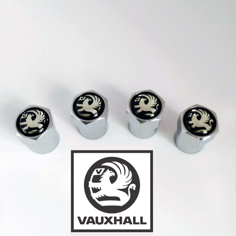 Noir Vauxhall Wheel Valve Dust Caps R Corsa Antara Astra Insignia Adam Mokka