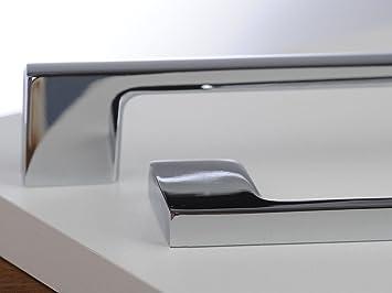 Hettich ProDecor Belluno Premium Door Handle Kitchen Bathroom Bright Chrome