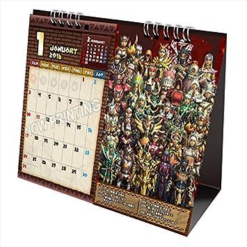 Capcom Monster Hunter calendario de escritorio 2016: Amazon.es: Juguetes y juegos