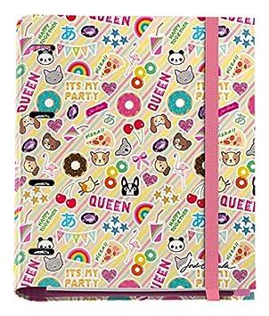 Jordi Labanda 20120 - Carpeta 4 anillas con bloc de 25mm, A4, multicolor: Amazon.es: Oficina y papelería