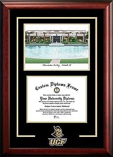 ucf central florida alumni mahogany diploma frame - Diploma Frames With Tassel Holder