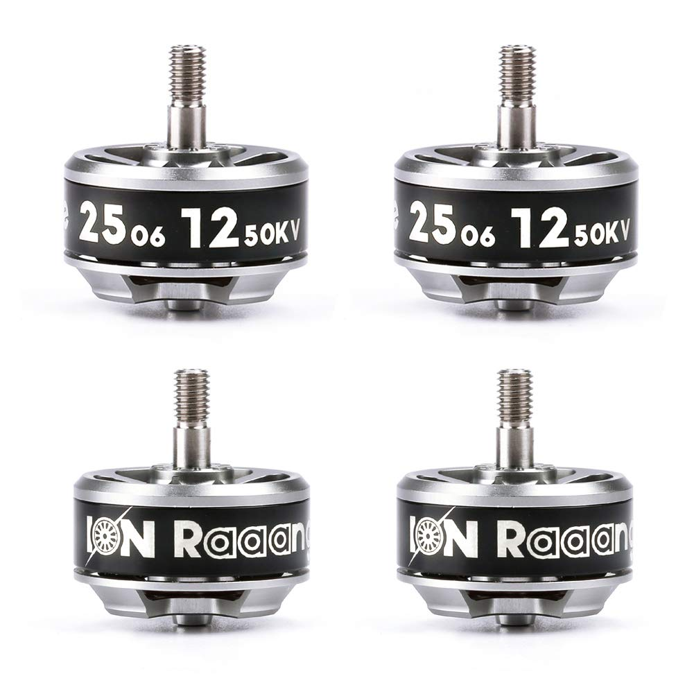 iFlight 4 Pack Ion Drive 2506 1250KV Brushless Motor 3-6S for 7 Inch Long Range FPV Quadcopters & Multirotors