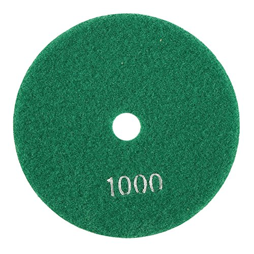 5'' inch 125mm Wet Diamond Polishing Pads Grinding Discs For Granite Concrete Marble (1000)