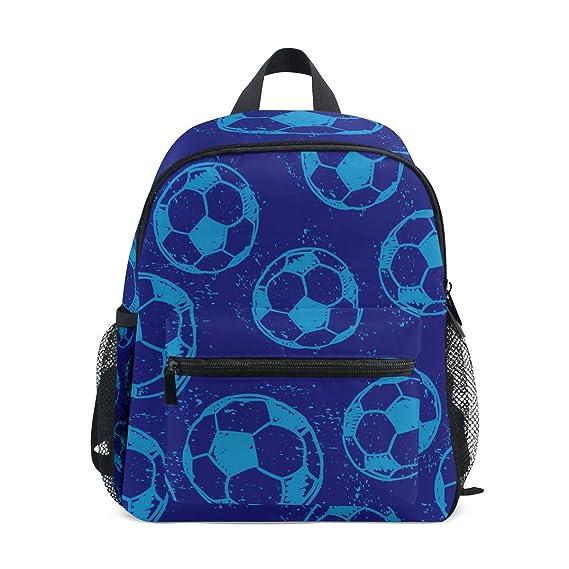 Mochila Escolar para Preescolar, colección de balones de fútbol ...