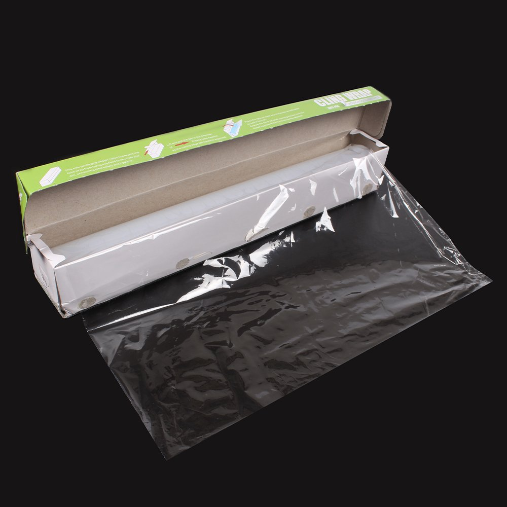 WRAPOK Cling Wrap Plastic Food Seal Film, Foodservice Cook's Tools