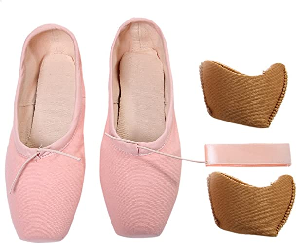 DoGeek Transpirable Zapatos de Ballet Zapatillas de Ballet de Danza Baile para Ni/ña