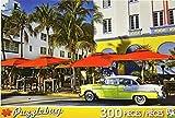 PuzzleBug 300 Piece Puzzle ~ Ocean Drive, South Beach, Miami
