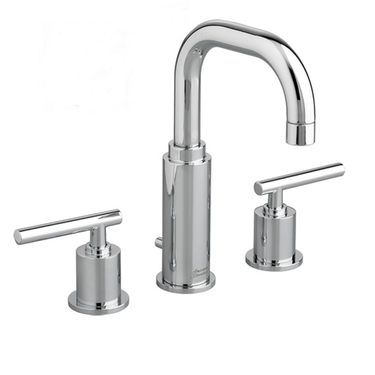 Amazon com american standard 2064 831 002 serin widespread bathroom sink faucet with metal pop up drain chrome home improvement