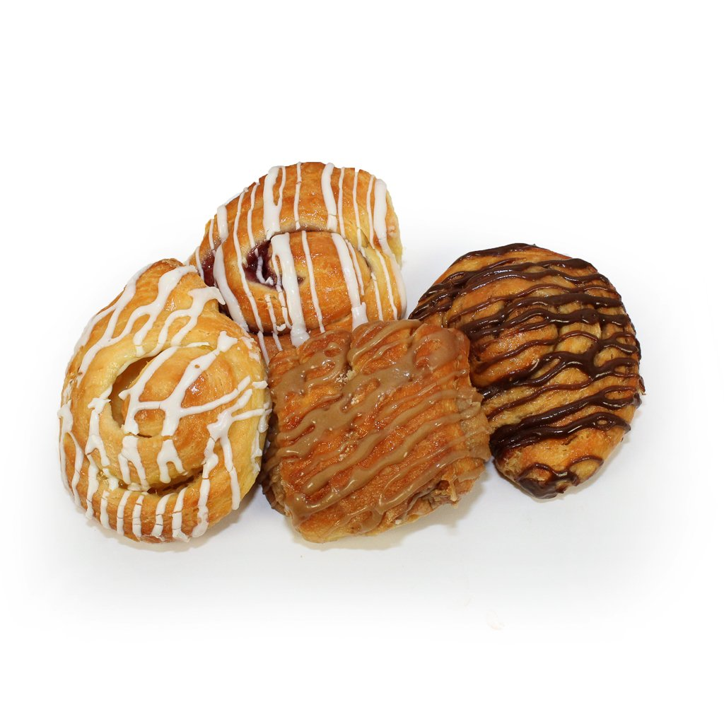 Mary Ann's Petite Danish Variety Pack, 1.4 oz, (Pack of 96)